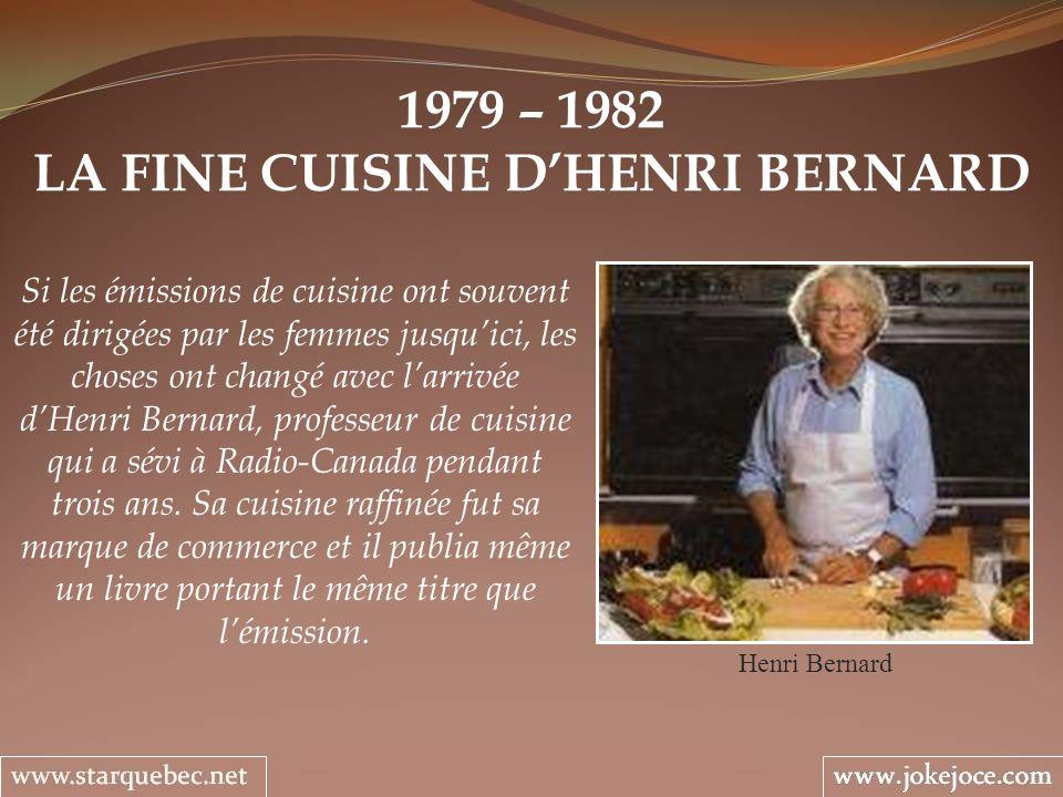 LA FINE CUISINE D'HENRI BERNARD