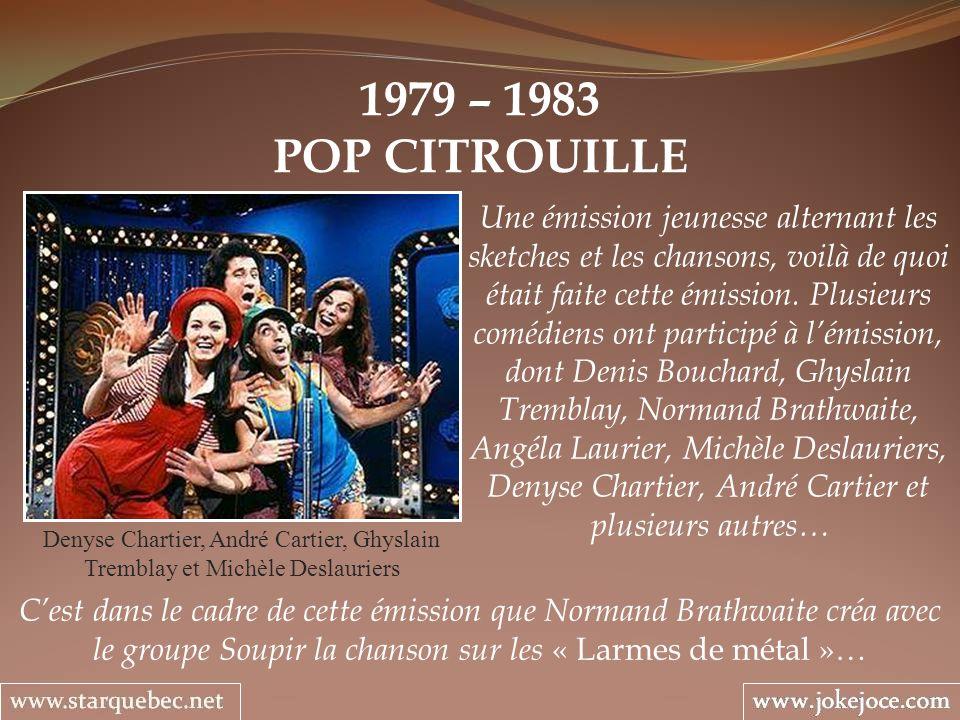 1979 – 1983 POP CITROUILLE.