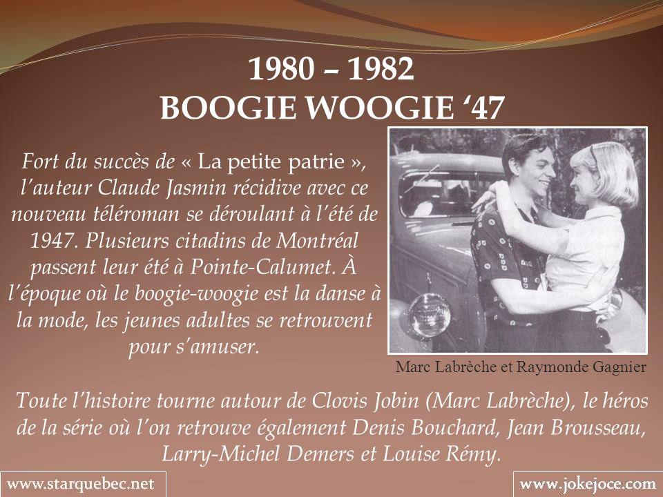 Marc Labrèche et Raymonde Gagnier