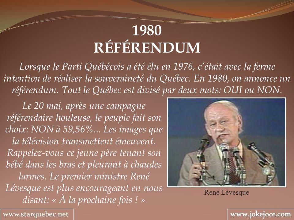 1980 RÉFÉRENDUM.