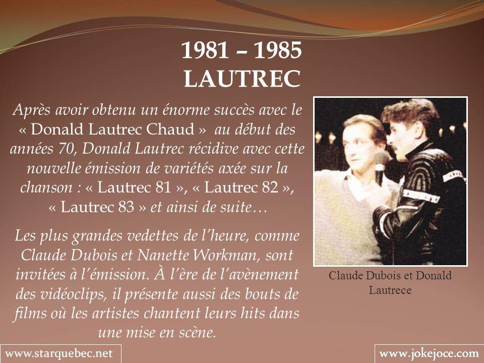 Claude Dubois et Donald Lautrece