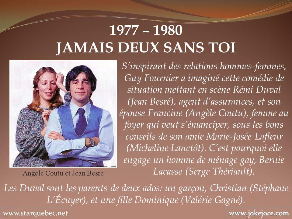 Angèle Coutu et Jean Besré