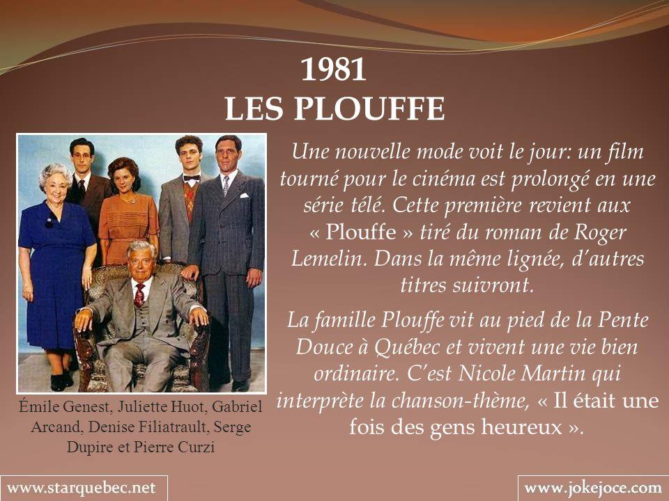 1981 LES PLOUFFE.