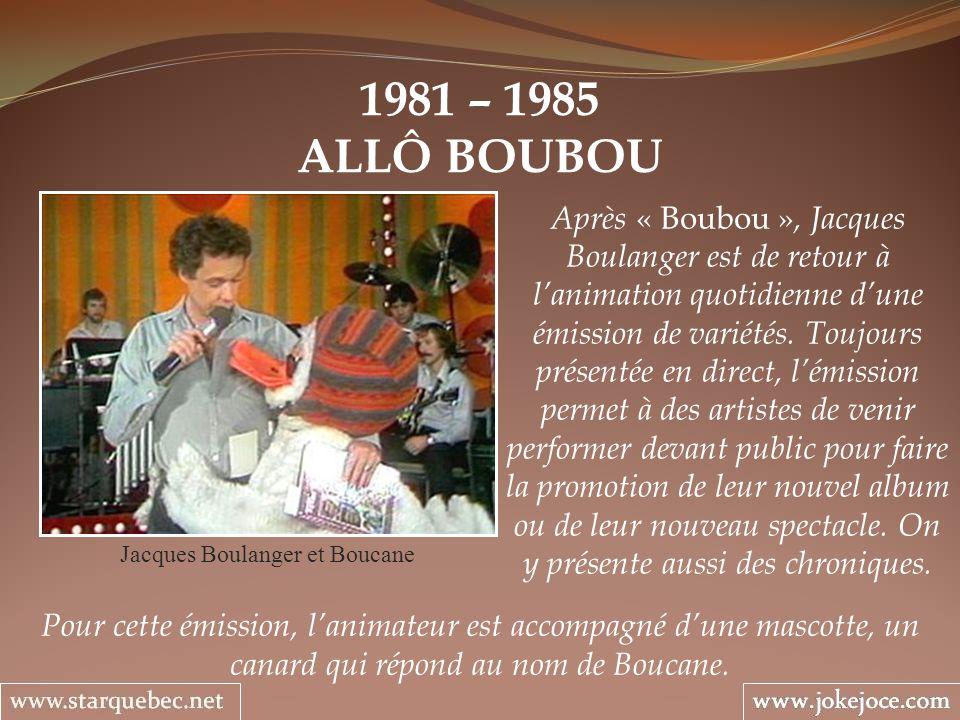 Jacques Boulanger et Boucane