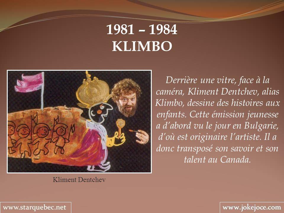 1981 – 1984 KLIMBO.