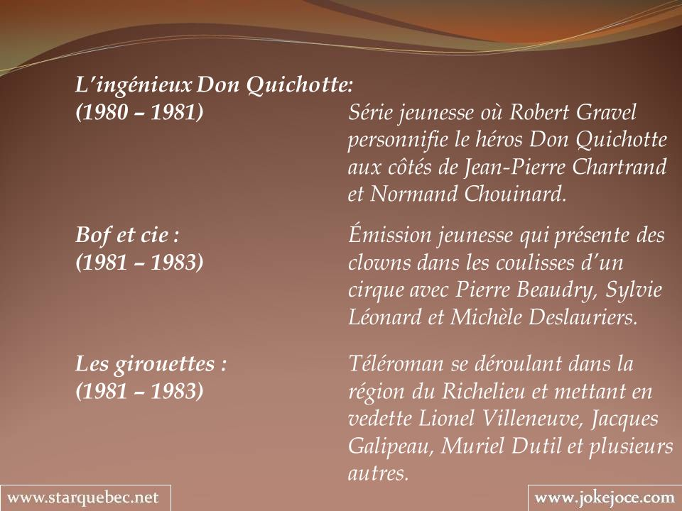 L'ingénieux Don Quichotte: