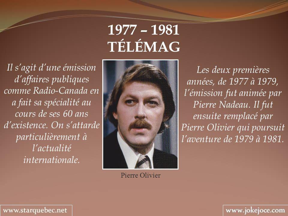 1977 – 1981 TÉLÉMAG.