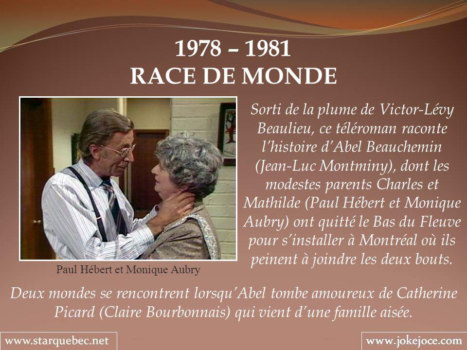 Paul Hébert et Monique Aubry