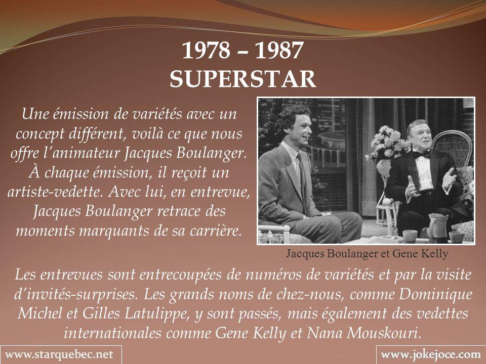 Jacques Boulanger et Gene Kelly