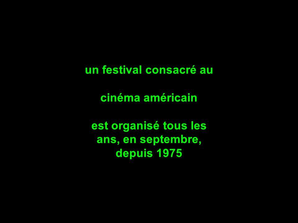 un festival consacré au