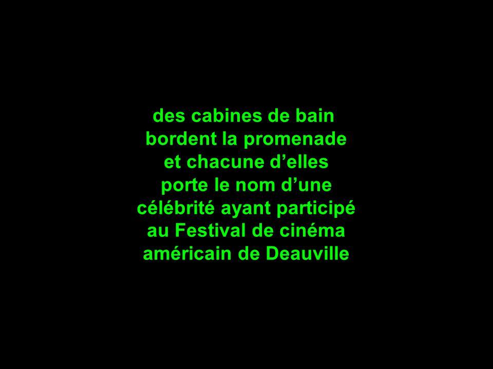 célébrité ayant participé américain de Deauville