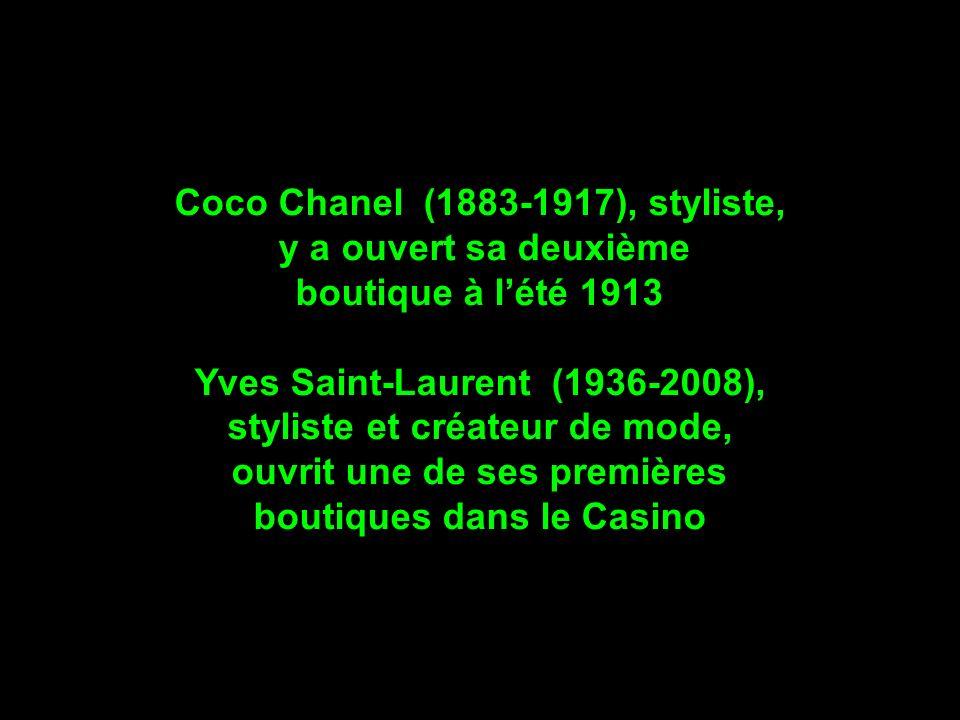 Coco Chanel (1883-1917), styliste, y a ouvert sa deuxième