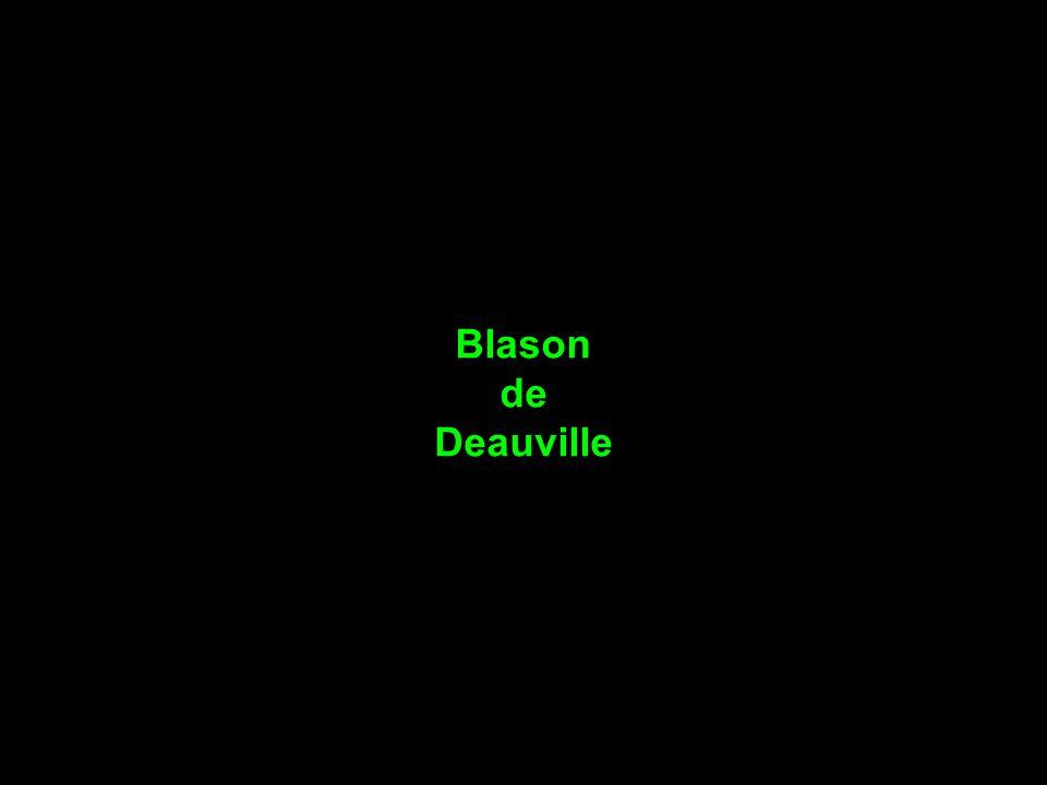 Blason de Deauville