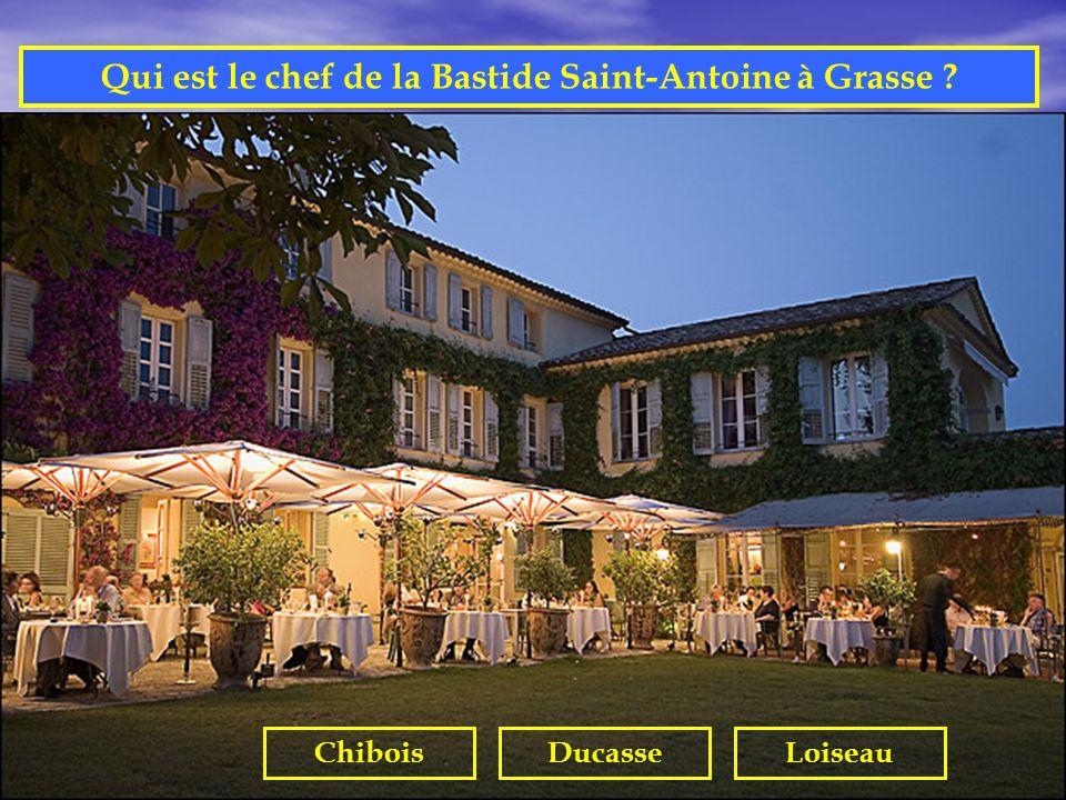 Qui est le chef de la Bastide Saint-Antoine à Grasse
