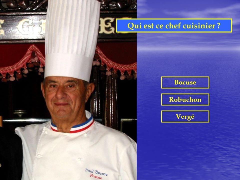 Qui est ce chef cuisinier