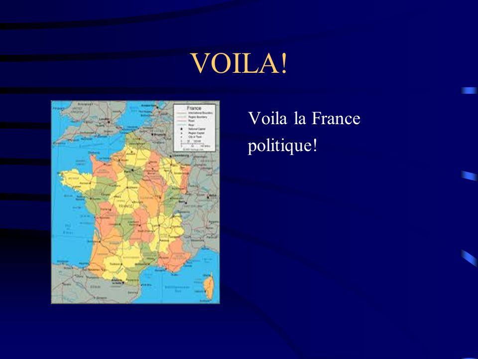 VOILA! Voila la France politique!