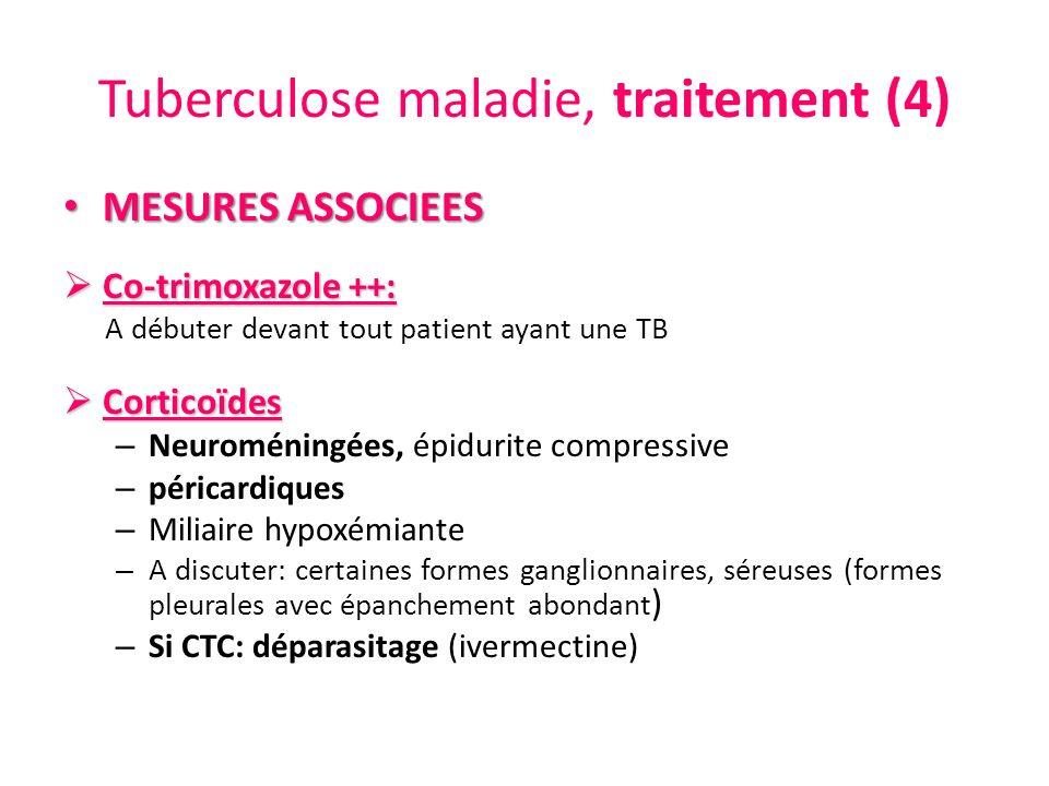 Tuberculose maladie, traitement (4)