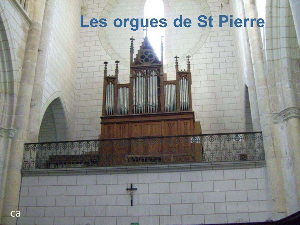 Les orgues de St Pierre
