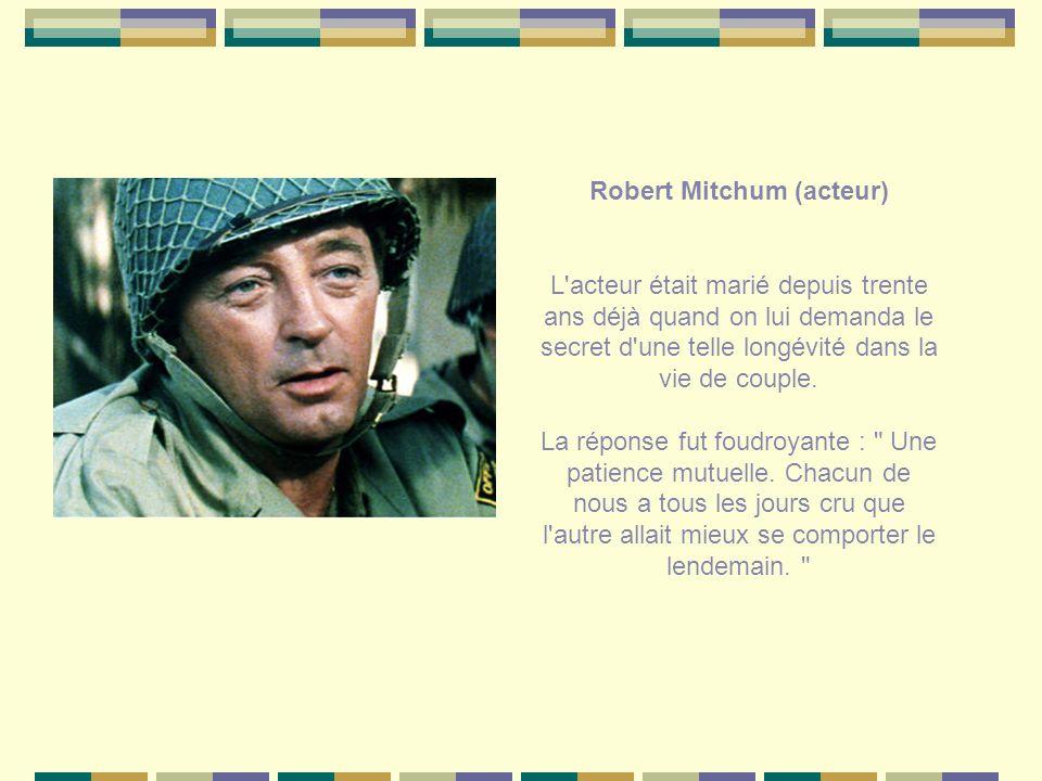 Robert Mitchum (acteur)