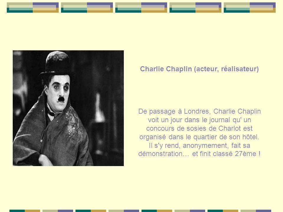 Charlie Chaplin (acteur, réalisateur)