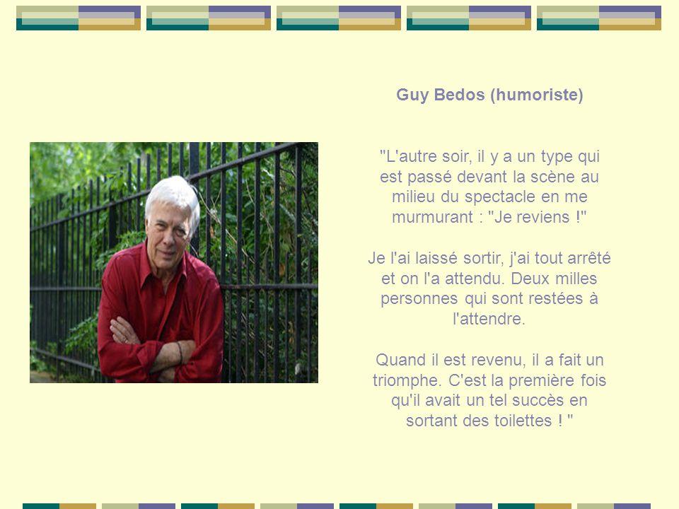 Guy Bedos (humoriste)