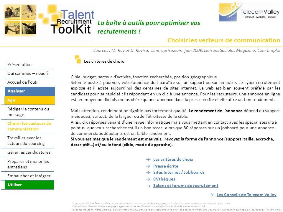 La boîte à outils pour optimiser vos recrutements !