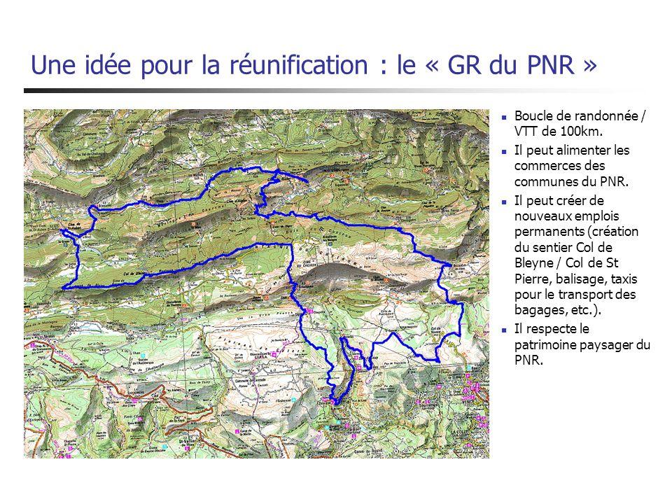 Une idée pour la réunification : le « GR du PNR »