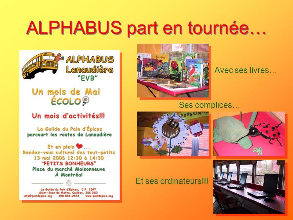 ALPHABUS part en tournée…