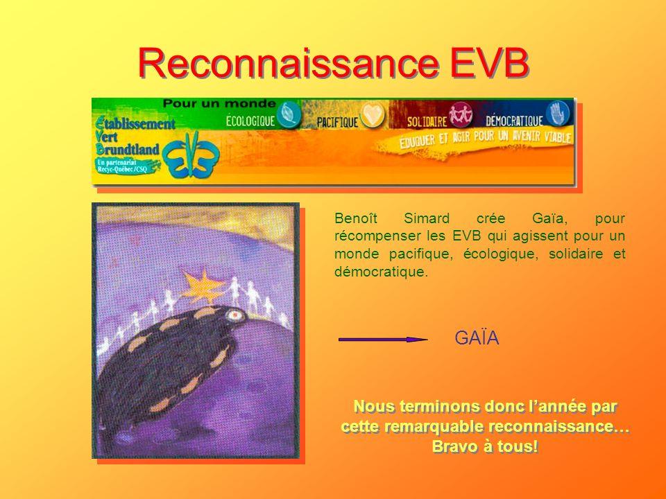 Reconnaissance EVB GAÏA