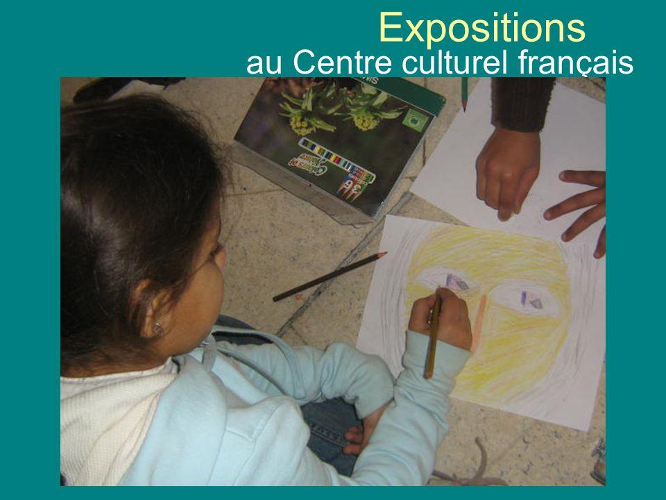 au Centre culturel français
