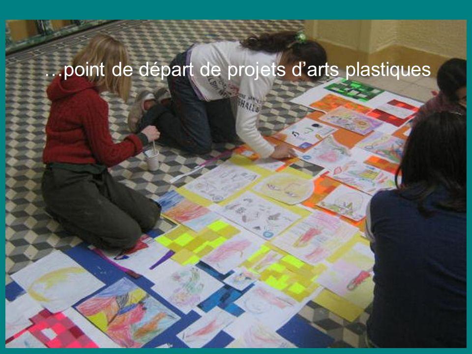 Expositions …point de départ de projets d'arts plastiques
