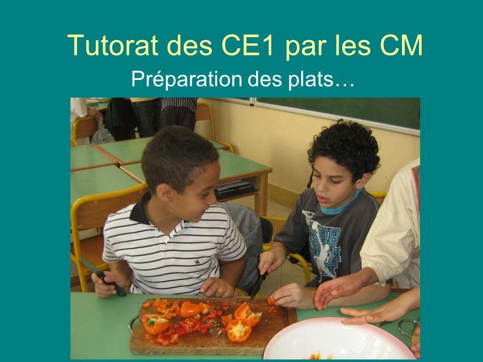 Tutorat des CE1 par les CM
