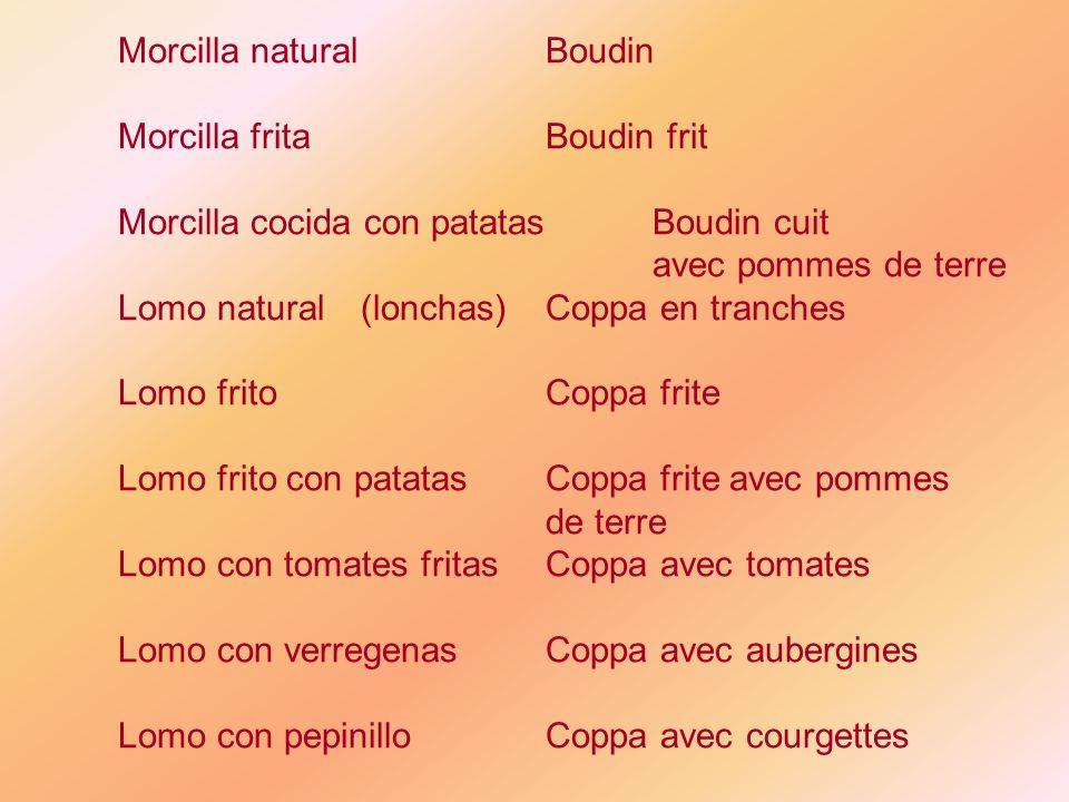 Morcilla natural Boudin