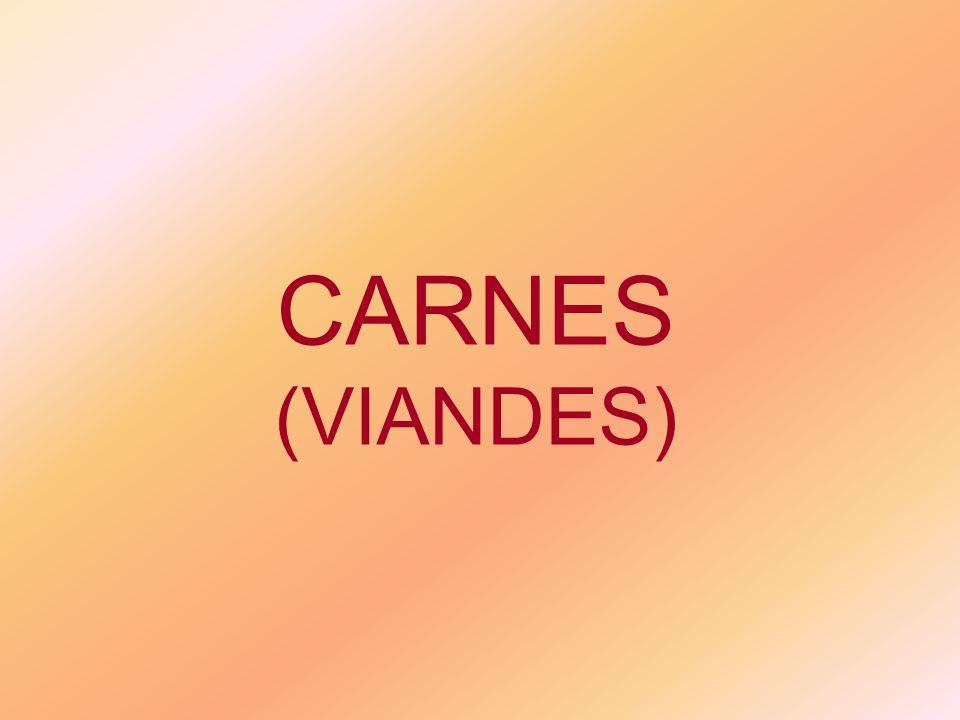 CARNES (VIANDES)
