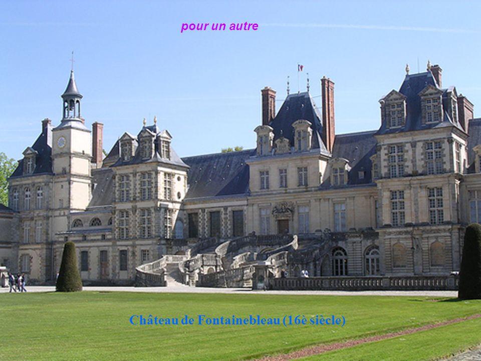 Château de Fontainebleau (16è siècle)