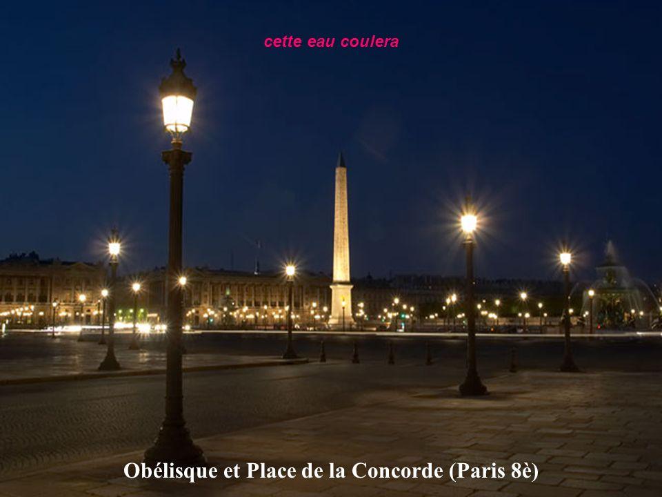 Obélisque et Place de la Concorde (Paris 8è)