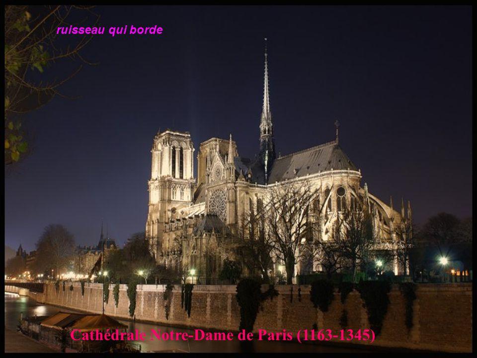 Cathédrale Notre-Dame de Paris (1163-1345)