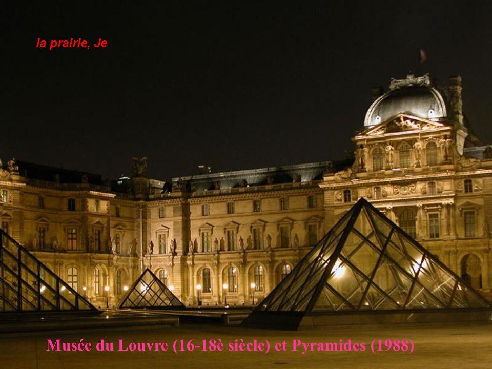 Musée du Louvre (16-18è siècle) et Pyramides (1988)