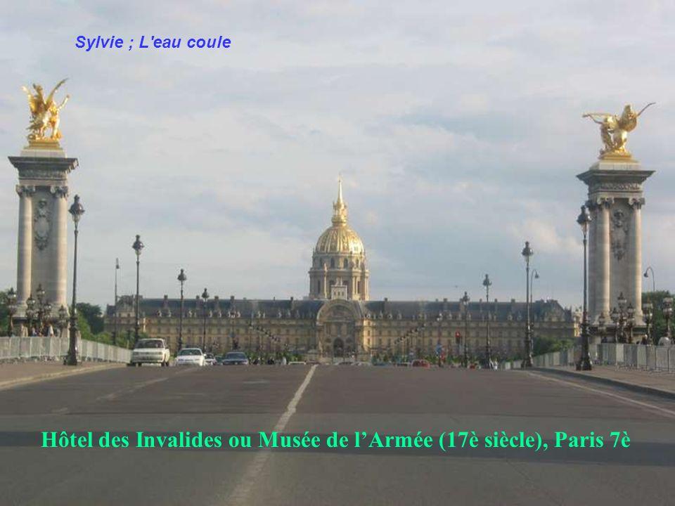 Hôtel des Invalides ou Musée de l'Armée (17è siècle), Paris 7è