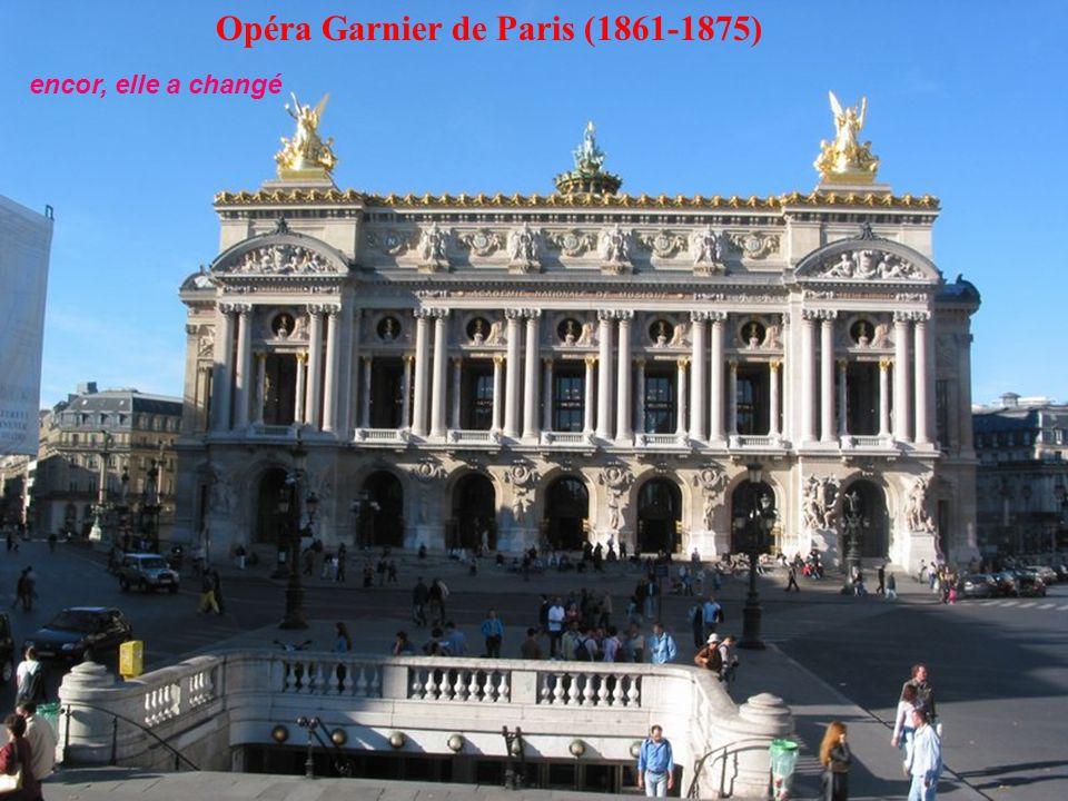 Opéra Garnier de Paris (1861-1875)