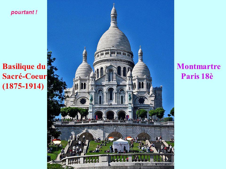 Basilique du Montmartre Sacré-Coeur Paris 18è (1875-1914)