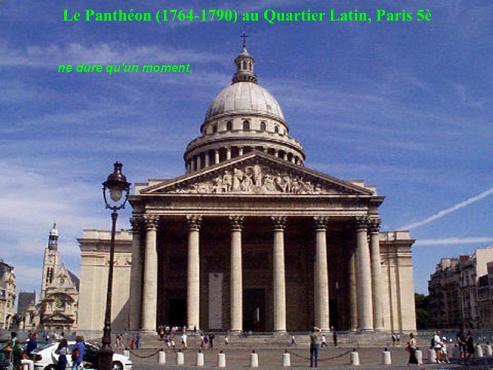 Le Panthéon (1764-1790) au Quartier Latin, Paris 5è