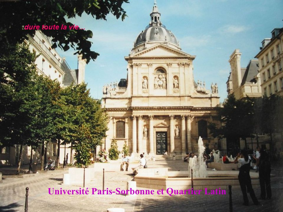 Université Paris-Sorbonne et Quartier Latin