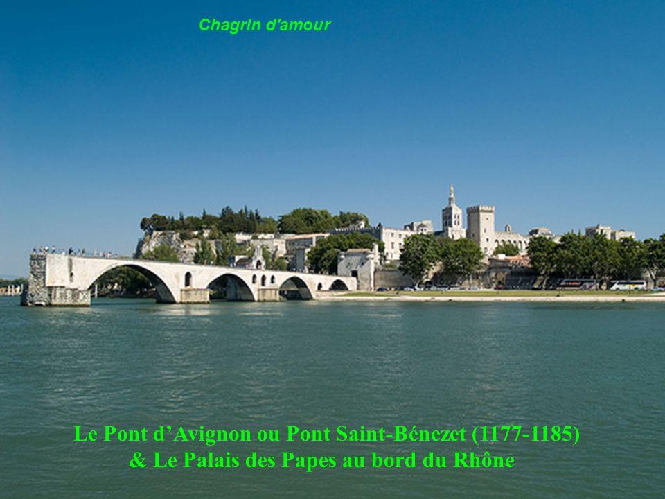 Le Pont d'Avignon ou Pont Saint-Bénezet (1177-1185)