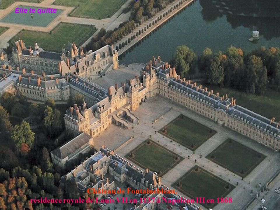 Château de Fontainebleau,
