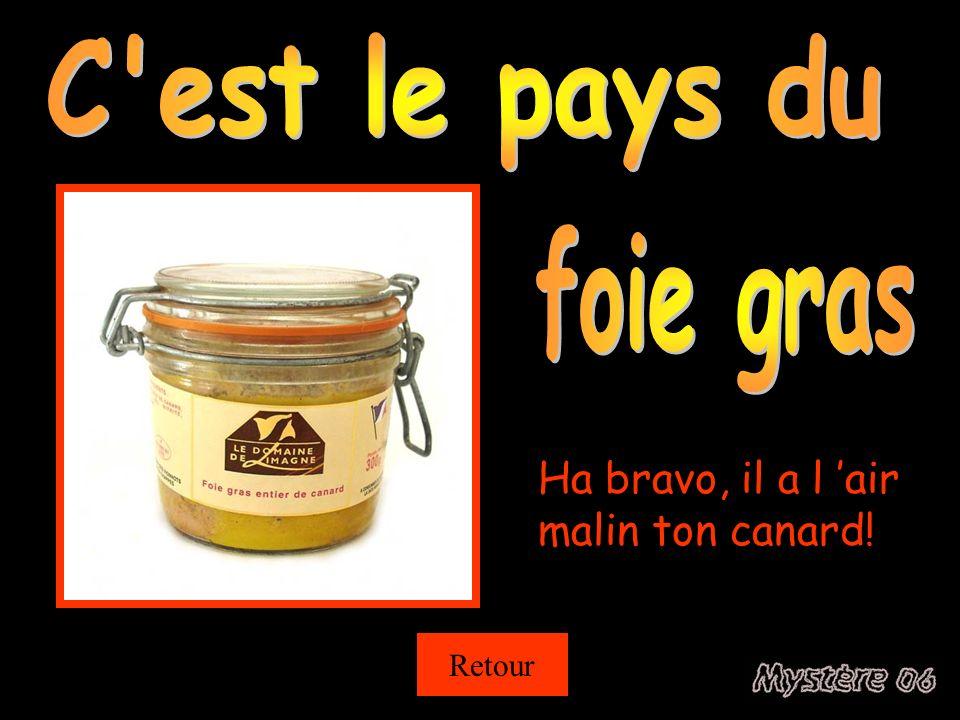 C est le pays du foie gras