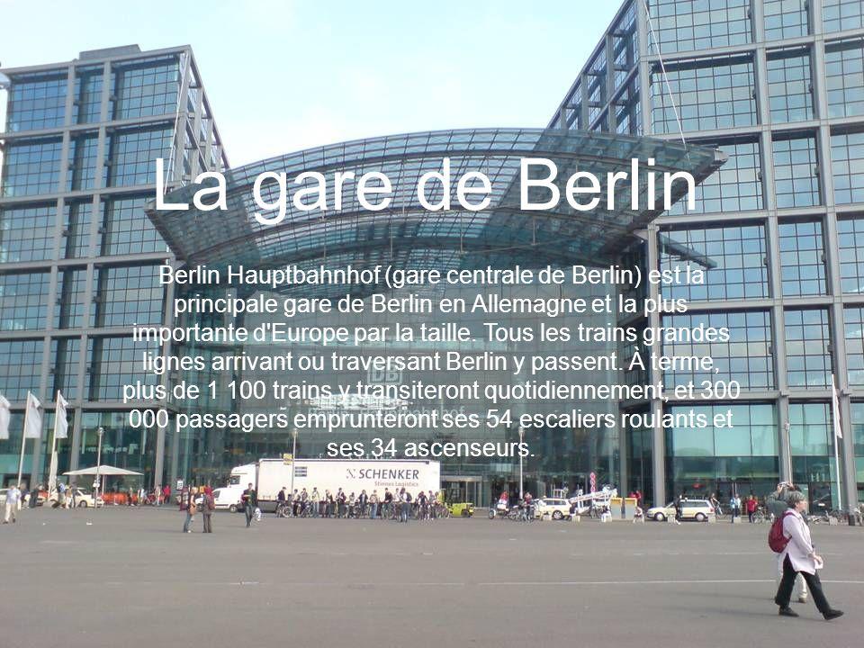 La gare de Berlin