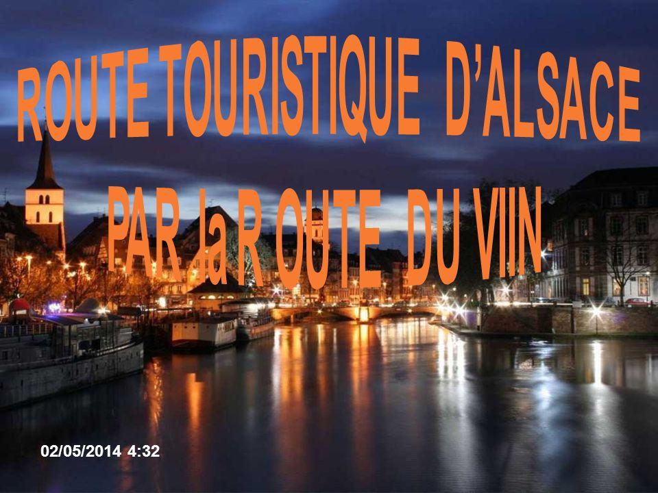 ROUTE TOURISTIQUE D'ALSACE