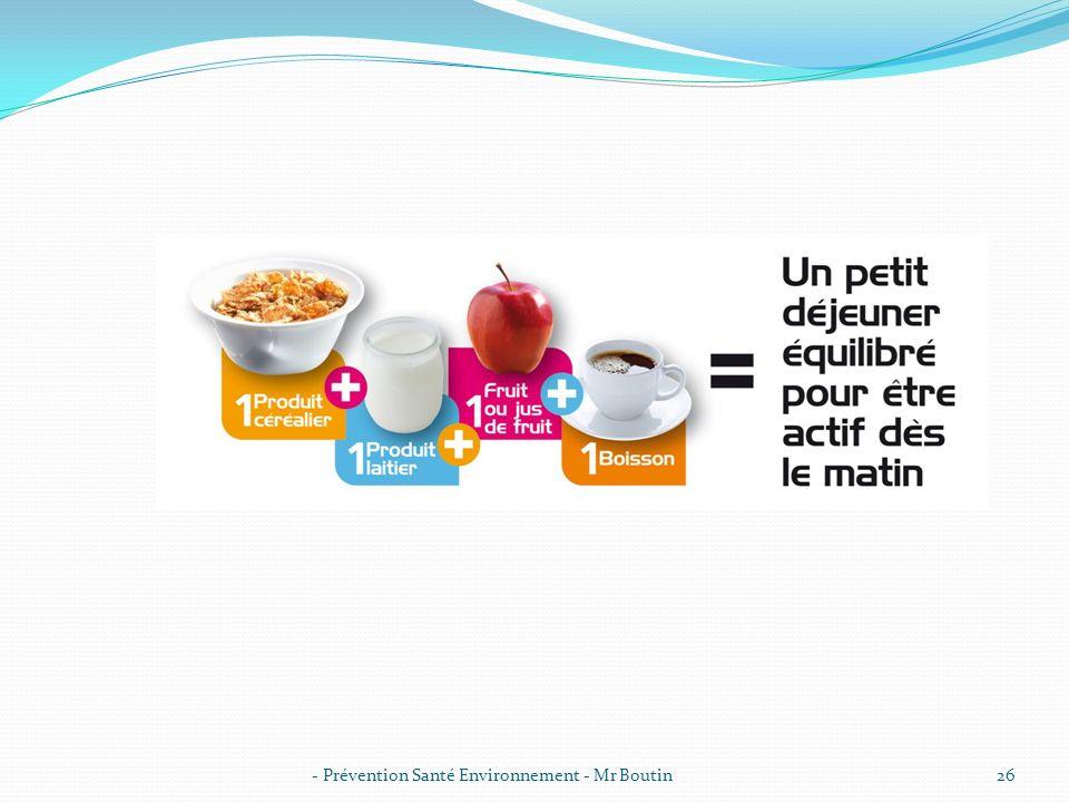 - Prévention Santé Environnement - Mr Boutin