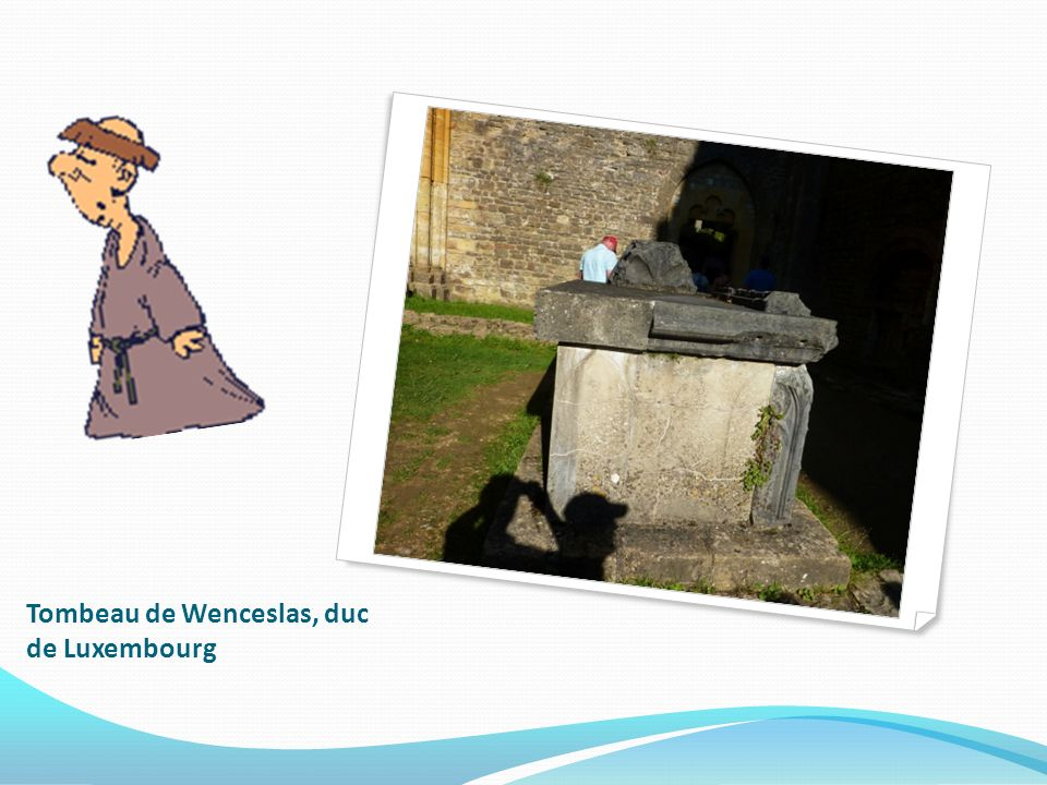 Tombeau de Wenceslas, duc de Luxembourg